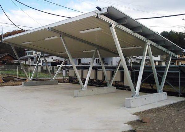 6m span Aluminium cross beams between uprights