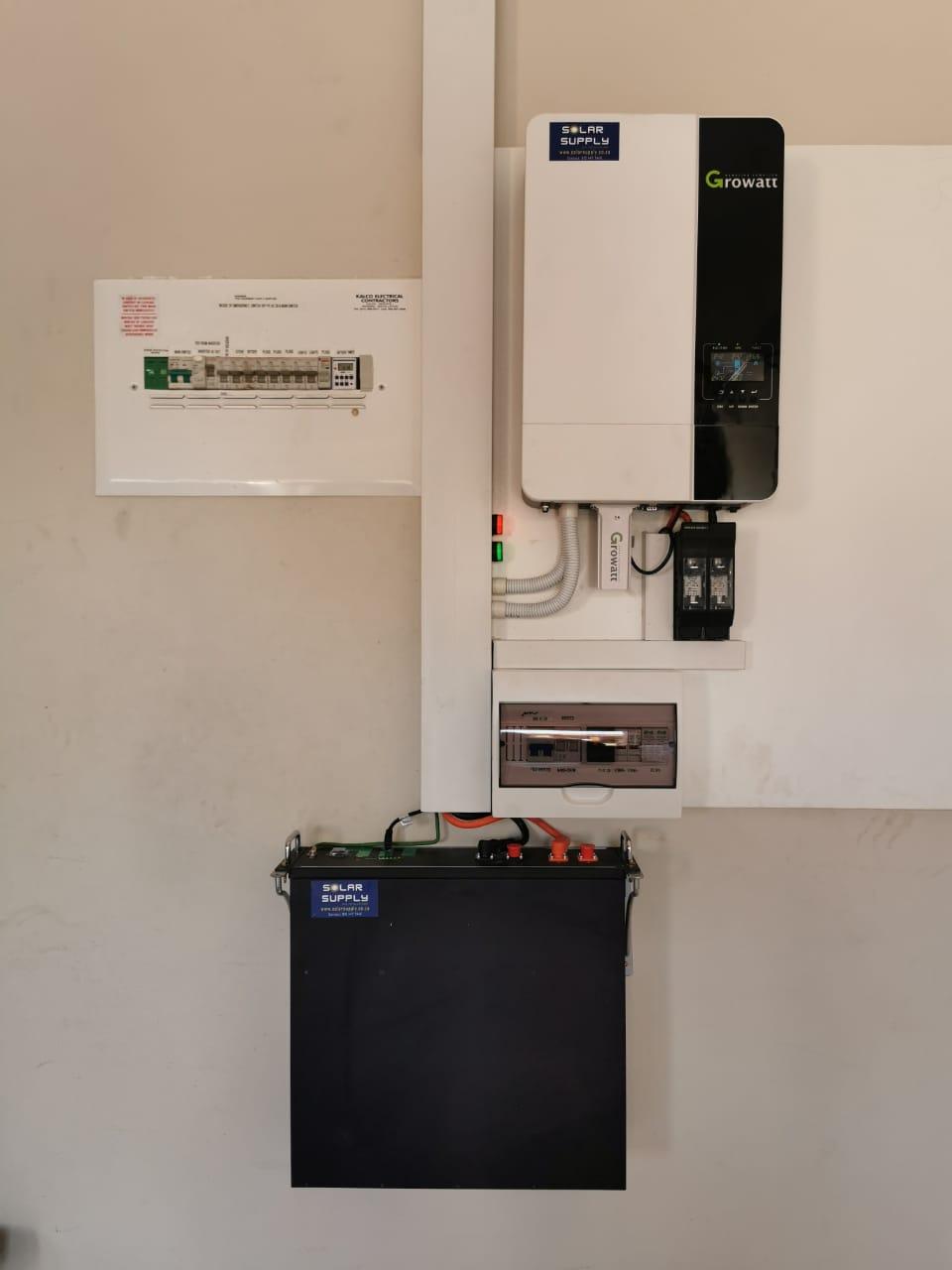 Solar Supply Battery Spec 1 x Pylontech 3.5 kWh Lithium-Ion Batteries